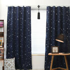 Kids Boy Girls Window Curtains Blackout Room Thermal Insulated for Bedroom Gift