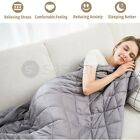Weighted Blanket Gravity Blankets Soft Breathable Sleep Bed Sofa Reduce Anxiety