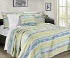 Sterling Creek Nile 3-Piece Chenille Jacquard Textured Stripes Coverlet Set image