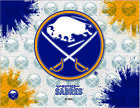 Buffalo Sabres HBS Gray Navy Hockey Wall Canvas Art Picture Print $56.00 USD on eBay