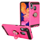 For Samsung Galaxy A10e SM-A102 Hybrid Ring Stand Case RS2