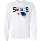 Details about  Men's New England Patriots Captain America Long Sleeve T-Shirt $9.11 USD on eBay