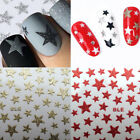 3D Nail Stickers Slider Stars Glitter Shiny Decoration Decals Stickers Tattoos $0.7 USD on eBay