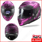 CASCO INTEGRALE DONNA LADY FULL FACE DOPPIA VISIERA LS2 BREAKER FF390 BETA MATT