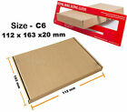 C6 SIZE ROYAL MAIL LARGE LETTER POSTAL CARDBOARD MAILING PIP CHOOSE NO. QUANTITY
