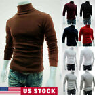 Kyпить 2020 Men's Winter Warm Cotton High Neck Pullover Jumper Sweater Tops Turtleneck на еВаy.соm