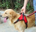 Reflective Nylon No Pull Dog Harness Vest For Big Dog Harness Large Dog 4 Sizes