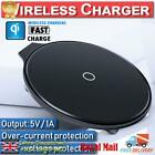 Qi Fast Wireless Charger Charging Pad Dock For Smart Phone Apple iPhone Samsung