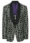 $5,995 Ralph Lauren Purple Label Art Deco Dinner Jacket Sport Coat Blazer 44R