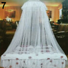 Lace Insect Mosquito Net Round Dome Bed Canopy Netting Curtain Bedding Newly image