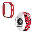 For Apple Watch 5 4 3 21 Minnie Mickey Mouse Ears Watch Band Silicone Strap Case image