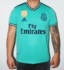 Real Madrid hazard Team away green  Soccer Jersey  Size S M L XL