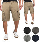Внешний вид - Men's Multi Utility Pockets Relaxed Fit Outdoor Casual Cotton Army Cargo Shorts