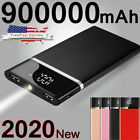 Внешний вид - Ultra-thin Portable External Battery Huge Capacity Power Bank 900000mAh Charger