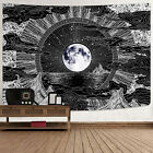 Psychedelic Abstract Tapestry Wall Hanging Home Wall Decor Hippie Bedspread USA