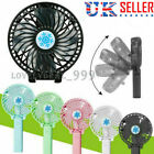 Mini Portable Hand-held USB Desk Fan Cooler Rechargeable Air Conditioner+Battery