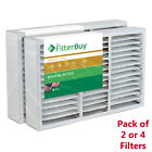 FilterBuy 16x25x5, AC Air Filters Honeywell FC200E1029 Compatible MERV 11