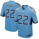 New Brand Men's Tennessee Titans Derrick Henry #22 Light Blue New Game Jersey HQ $39.99 USD on eBay
