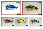 "Pack of 5 Akuna Rattlin' Rover 5.3"" Sinking Bass Trout Fishing Lures"