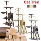 Cat Tree Activity Centre Scratcher Scratching Post House With Toys Bed Sisal Pet