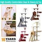 Cat Tree Scratch POST Sisal Climbing Jumping Bed Toys Scratching Activity Centre