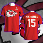 Kansas City Chiefs LIV Super Bowl Bound Patrick Mahomes 15 NFL Men's T-Shirt Tee $19.05 USD on eBay