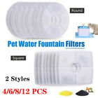 Pet Water Fountain Replacement Filter 1/4/6/8/12PCS Set For Catit Design Senses