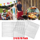 Stainless Steel BBQ Cooking Grill Grate 45x30cm of European Iron Grill Grid Nets