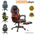 Kyпить Gaming Chair Racing Ergonomic Recliner Office Computer Desk Seat Swivel Footrest на еВаy.соm