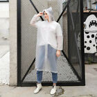 US Waterproof Jacket Hooded Raincoat Rain Coat Poncho Rainwear Outdoor