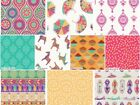 NEW DELHI by Debbie Shore INDIAN STYLED  100% COTTON PATCHWORK QUILT FABRIC
