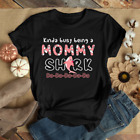 Kinda Busy Being A Mommy Shark Doo7 Best Shirt for Mothers Day Gildan