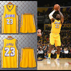 City Edition Los Angeles Lakers #23 LeBron James Jersey Adult Youth Child Shorts on Ebay
