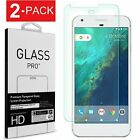 2-Pack Premium Tempered Glass Screen Protector For Google Pixel 2 3 3a 4 4a 5 XL