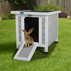Kyпить Wooden Rabbit Hutch Cage House Portable Outdoor Weatherproof Rabbit Cottage на еВаy.соm