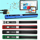 Portable 900DPI Wireless Scanner LCD Display A4 Document Photo Handheld Pen