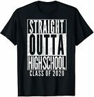 Limited Edition-Straight HIGH School Class 2020 Graduation Grad Gift T-Shirt