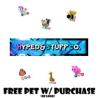 Kyпить Roblox Adopt Me Neon Fly Ride Pets Legendary FREE w/ purchase of H&S Co. Logo  на еВаy.соm