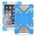 """For Various 8"""" Tablet Universal Silicone Soft Back Stand Shockproof Cover Case"""
