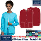 Cherokee Scrub ORIGINALS Women's Traditional Fit Snap Front Warm up Jacket 4350