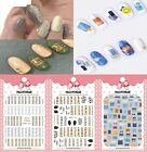 Women Nail Sticker Art Manicure Back Glue Decal Decorations Design Tips Beauty