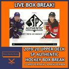 2019-20 UPPER DECK SP AUTHENTIC HOCKEY HOBBY BOX BREAK #8 $6.99 CAD on eBay