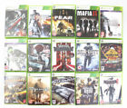 Xbox 360 Games Very Good Condition