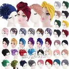 Kyпить Top Knotted African Twisted Headwrap Chemo Cap Women Stretch Cotton Turban Hat # на еВаy.соm
