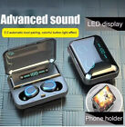 Audifonos inalambricos Bluetooth 5.0 Earbuds Headset para iPhone Samsung Android
