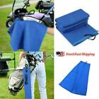 New Large Waffle Microfiber Golf Towel For Golf Bag 24 x16'' with Carabiner Hook