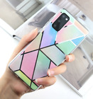 Phone case Marble pattern with color (Holographic Soft TPU) + FREE SHIPPING