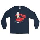 Lobster and Champagne For Breakfast Tee Bougie Expensive Long Sleeve Flute