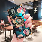 Luxury Plating Metal Clear Plaid Trunk Cover Case For iPhone 11 Pro Max XsMax XR