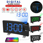 Clock Multifuctional Projection FM Radio Alarm Clock With USB Charging Port G1G8